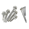 Hex head countersunk tapping screws